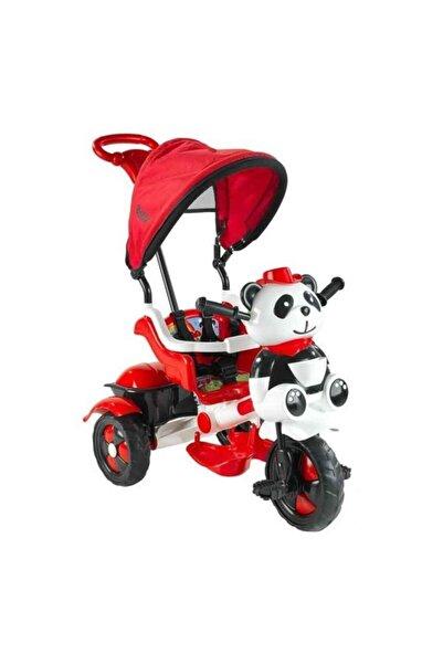 BabyHope 127 Little Panda Bisiklet Beyaz Kırmızı