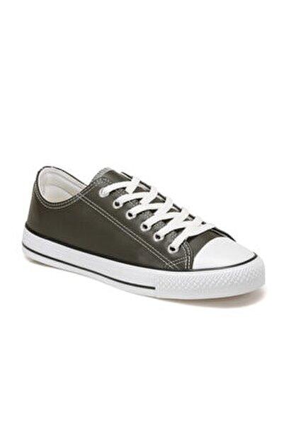 EC-2001 Haki Erkek Kalın Tabanlı Sneaker 100669572