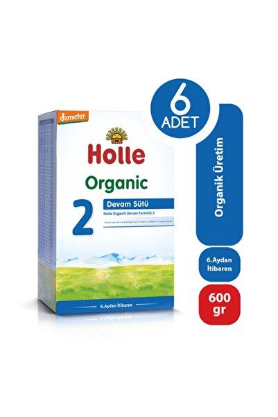 Holle Organik Devam Sütü 2 600 Gr - 6'lı Paket