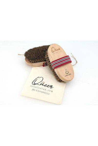 QUEEN By Cottonelle At Kılı Fırçası % 100 Doğal Selülit Fırçası