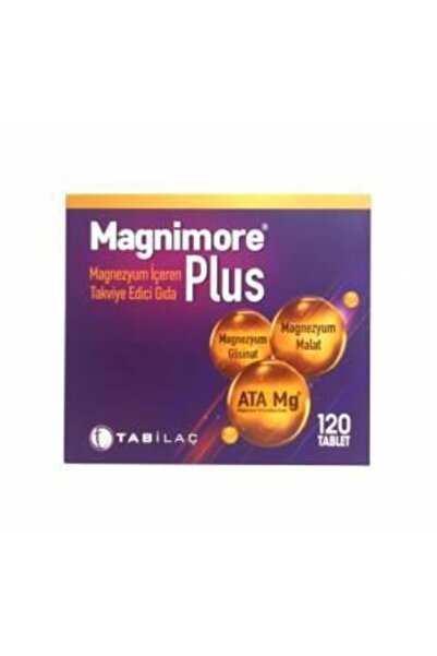 Tab İlaç Magnimore Plus 120 Tablet-skt:07/2023