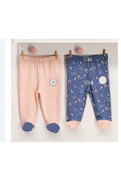 U.S. Polo Assn. Kids U.s.polo.assn Kız Bebek Patikli 2'li Pantolon