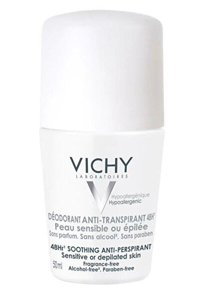 Vichy Deo Sensitive Roll On 48h 50ml | Hassas Ciltler Için Etkili Deodorant