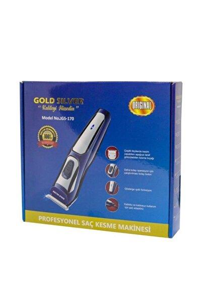 GOLDMASTER Traş Makinesi Gold Silver Gs-170 Saç Sakal Kesme Makinesi