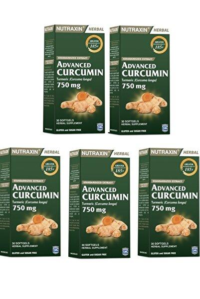 Nutraxin Zerdeçal Ekstresi Içeren Takviye Gıda 30 Kapsül 5 Adet