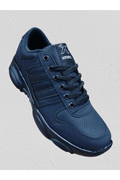 Venuma Unisex Siyah Yürüyüş Ayakkabısı m11-01