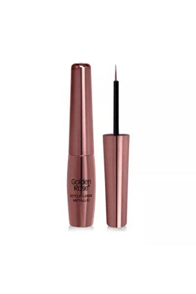 Golden Rose Metalik Mavi Eyeliner  Style Liner Metallic Eyeliner No: 06