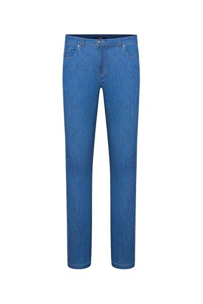 Bisse Erkek Mavi Regular Fit Jean Pantolon