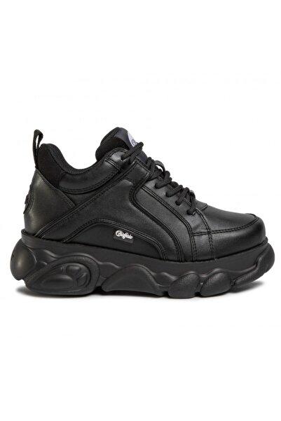 Buffalo Kadın Siyah Bağcıklı Kalın Taban Ayakkabı Bn16301201