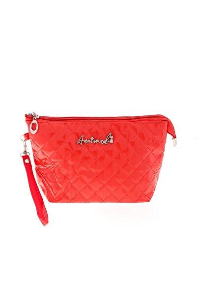 Asortishey Kadın Kırmızı Mini Bag El Çantası - Clutch