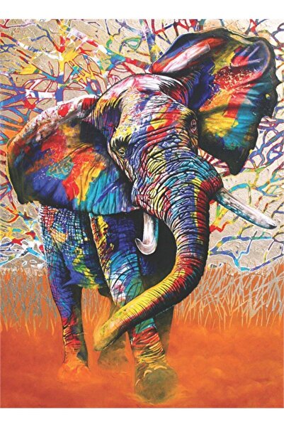 Anatolian Puzzle Anatolian Afrika Renkleri African Colours 1000 Parça Puzzle /