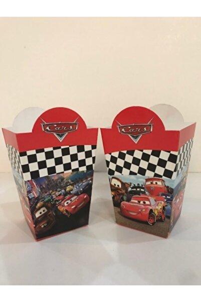 CARS Şimşek Mcqueen Popcorn Mısır Kutusu 8 Adet