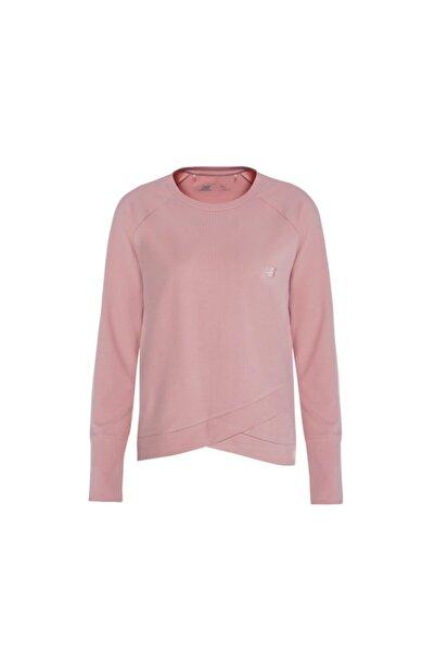 New Balance Kadın Pembe Sweatshirt Wth2024