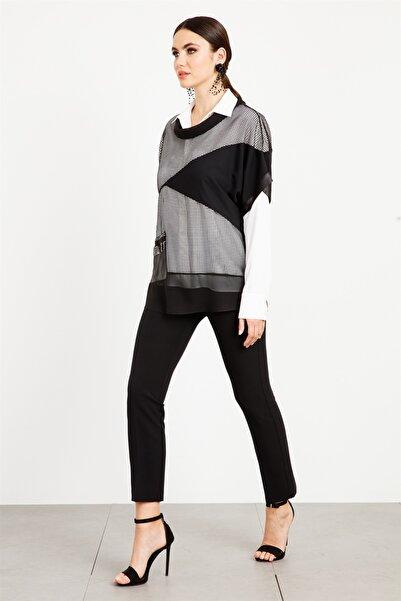Moda İlgi Kadın File Ikili Gömlek