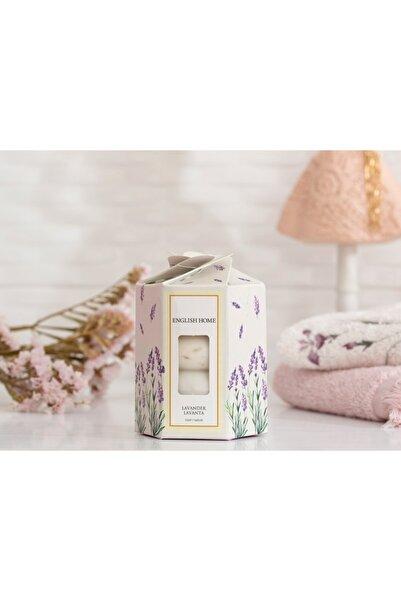 English Home Lavanta Özlü Katı Sabun 4x45 Gr Beyaz