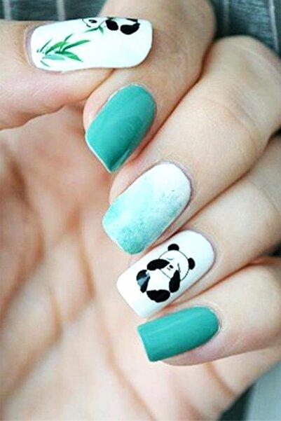 New Obsessions Panda Tırnak Geçici Dövme