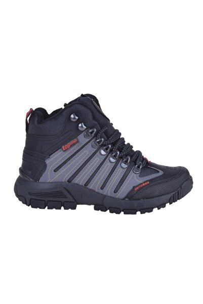 Laguna 2020-08 Siyah Füme Kışlık Erkek Çocuk Bot Ayakkabı