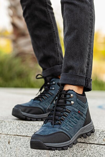 MUGGO Unisex Lacivert Outdoor Ayakkabı DPRMGMSTPX6