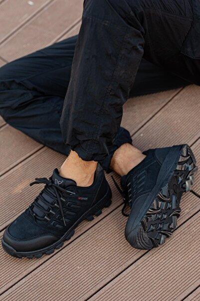 MUGGO Unisex Siyah Outdoor Ayakkabı DPRMGMSTPX5