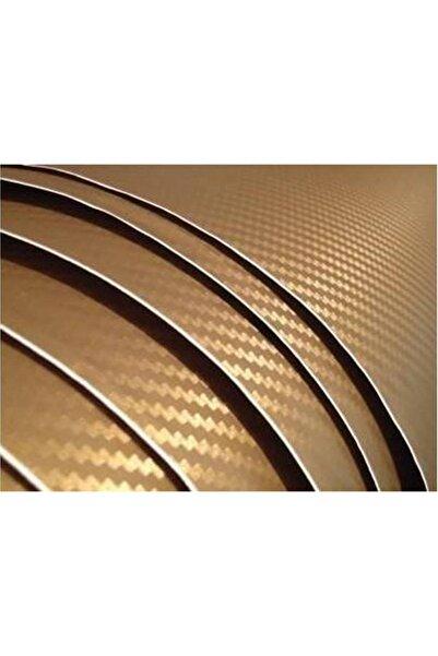 AUTOFOLYO Karbon Folyo Altın Kendinden Yapışkanlı 127 Cm X 3 Metre
