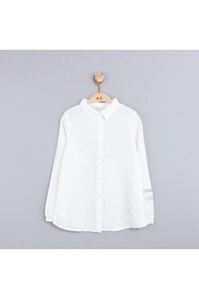 NK Kız Çocuk Beyaz Secret Gömlek 33109