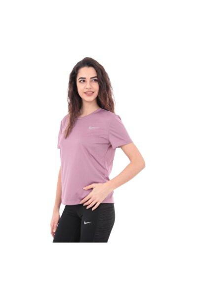 Nike Kadın Gül Kurusu Miller Top Ss T-shirt