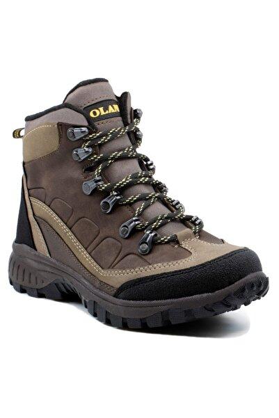 Khayt Trekking Unisex Kahverengi Ayakkabı Su Ve Soğuk Dayanıklı Bot