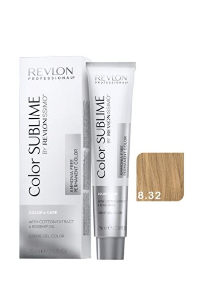 Revlon Issimo Color Sublime Color - Care 8.32 Açık Kumral Dore Irize