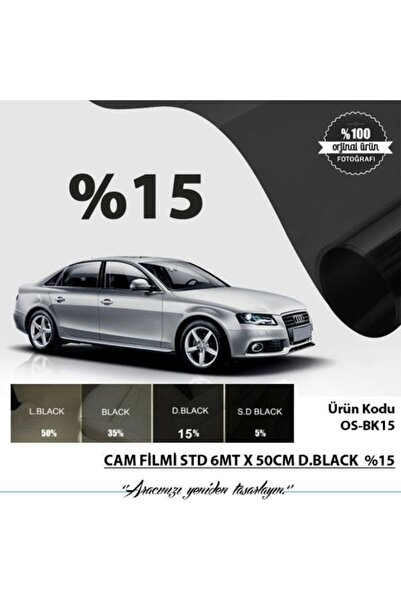 Oscar Tp Cam Filmi Normal 6mt X 50cm D.black %15