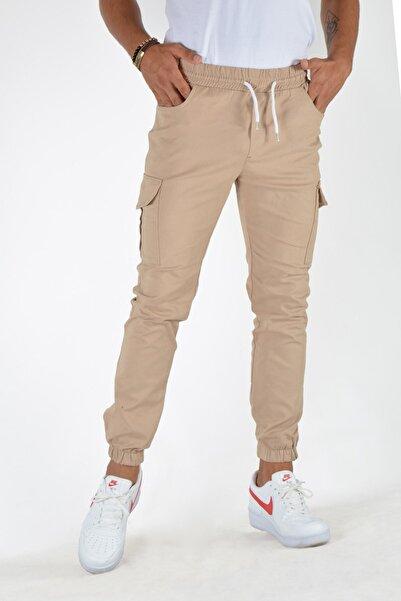 Terapi Men Erkek Kahverengi Kargo Cepli Pantolon 20k-2600049