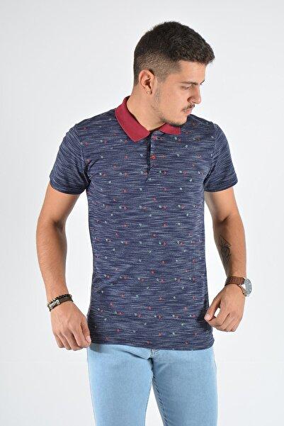 Terapi Men Erkek Lacivert Polo Yaka T-shirt 20k-3400599