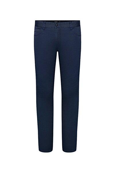 Bisse Erkek Lacivert Slim Fit 5 Cep Spor Pantolon