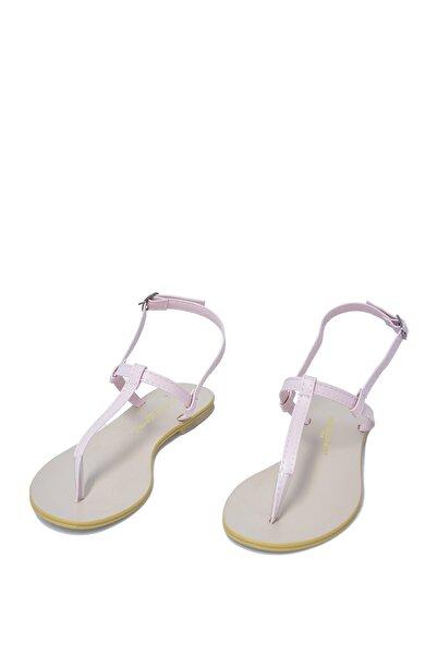 David Jones Kadın Pudra Parmak Arası Sandalet