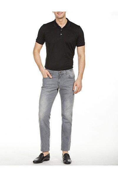 Bisse Erkek Gri Slim Fit Jean Pantolon