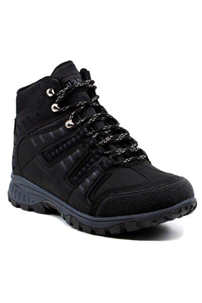Khayt Unisex Siyah Trekking  Ayakkabı Su Ve Soğuk Dayanıklı Bot