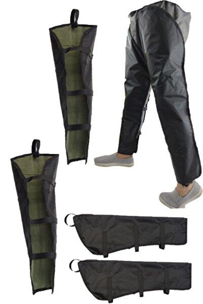Carneil Motosiklet Pantolon Üzeri Giyilen Kış Rüzgar Koruyucu Su Geçirmez Koruyucu 80cm Qrz12