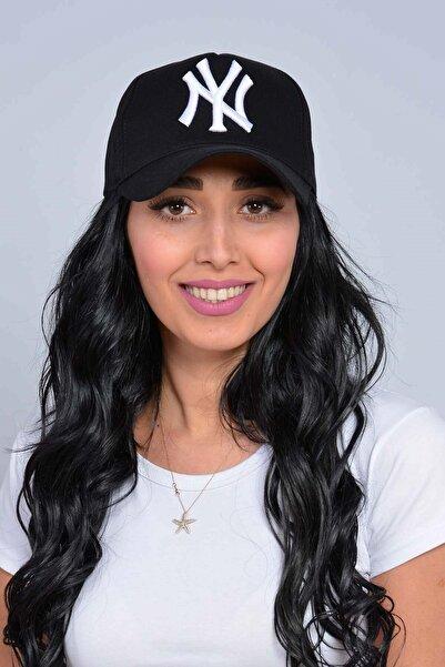 Mossta Unisex Siyah New York Şapka