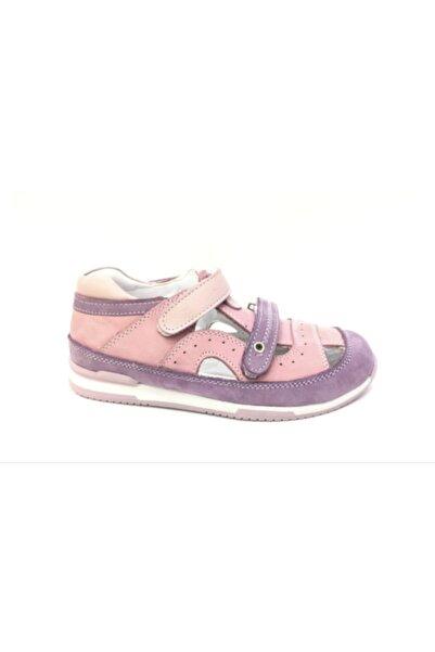 Perlina Kız Çocuk Pembe Ortopedik Hakiki Deri Günlük Ayakkabı 524--5
