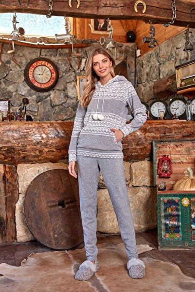 Berrak 635 Bayan Pijama Takımı - Ekru