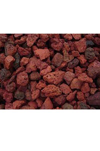 MF Botanik Kırmızı Pomza Taşı 3-8 Mm 5 Litre Volkanik Ponza Lav Taşı