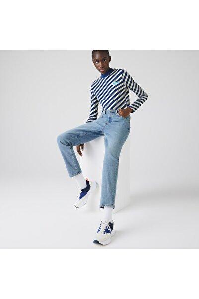 Lacoste L!ve Kadın Slim Fit Denim Denim Pantolon