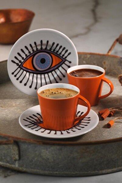 Kütahya Porselen Toledo Kahve Takımı 11r19
