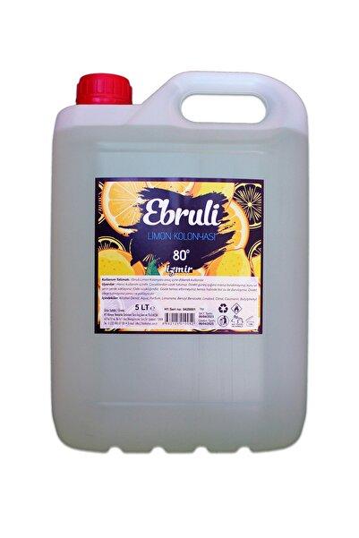Ebruli 5lt Limon Kolonyası 80 Derece
