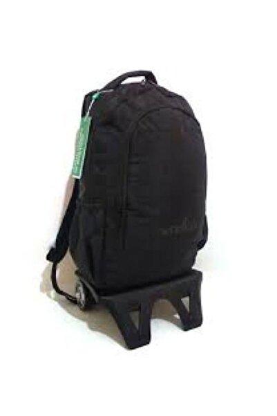 Benetton 70028 Siyah Tekerlekli Okul Çantası
