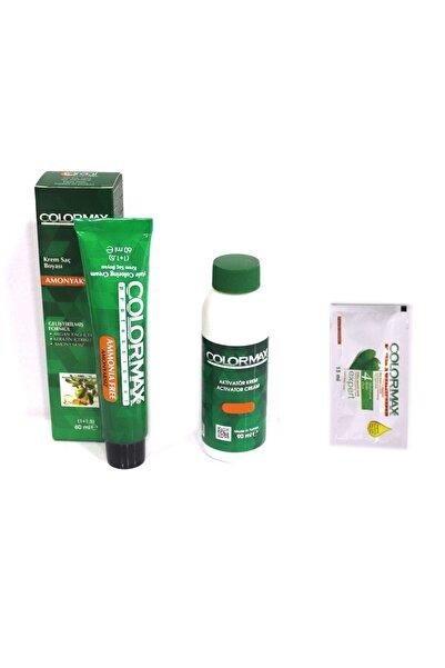Colormax Amonyaksız 60ml Saç Boyası Argan Yagı Ve Keratinli, 90ml Sıvı Hediye 6.66 Aşk Ateşi