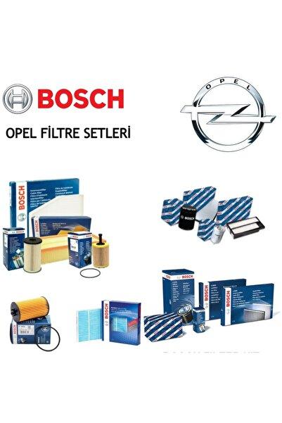 Bosch Opel Corsa C - Combo C 1.3 Cdti Bakım Seti Yağ-hava-polen-mazot Filtreleri 4lü Set