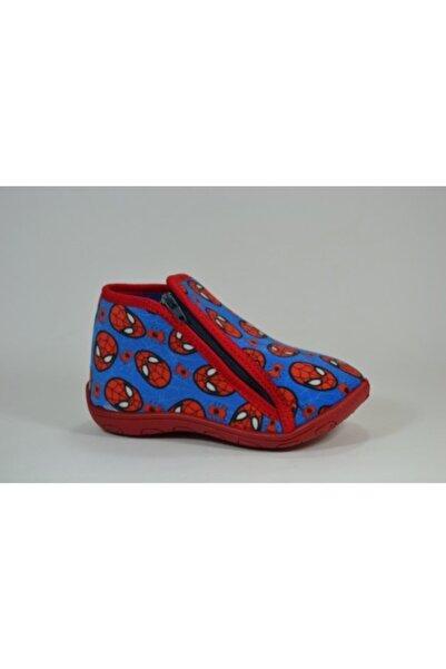 Gigi Spiderman Mavi Erkek Çocuk Panduf Ev Kreş Anaokulu Ayakkabı