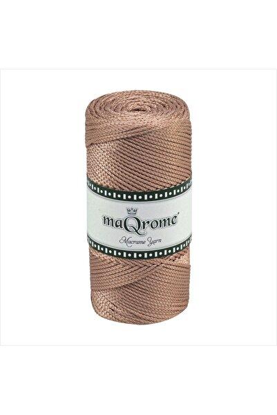 maQrome Makrome Polyester Hobi Ipi 200 Gr 230 M 2 Mm Bakır