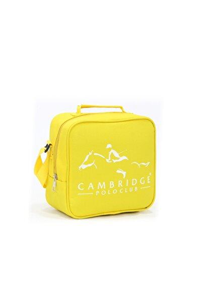 Cambridge Polo Club Unisex Sarı Beslenme Çantası Plbsl80007