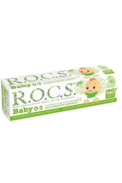 Chicco Rocs Baby Papatya Özlü Diş Macunu